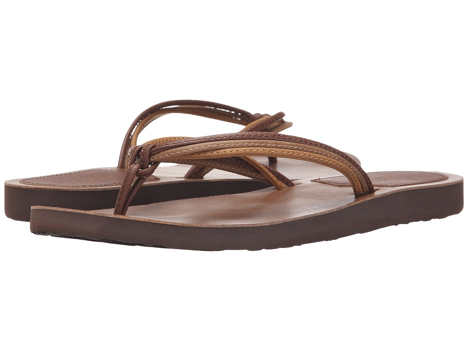 Scott Hawaii Haku Brown Womens Sandals