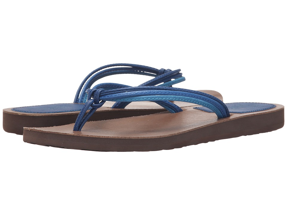 Scott Hawaii Haku Blue Womens Sandals