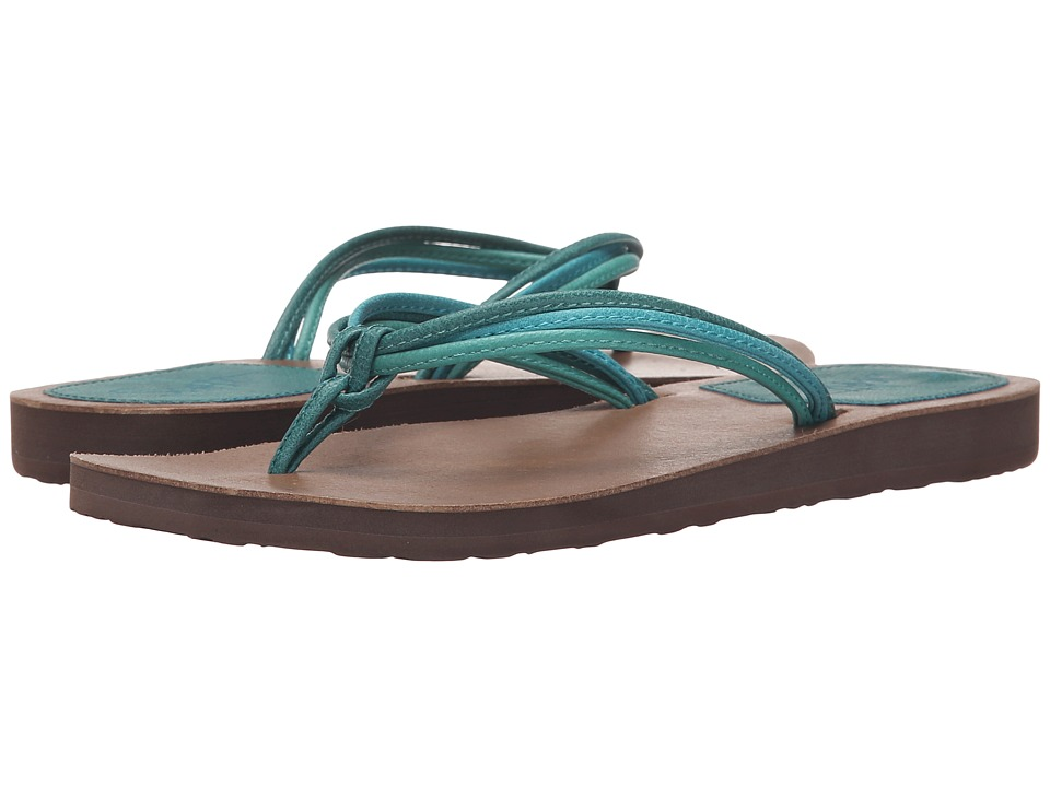 Scott Hawaii Haku Green Womens Sandals