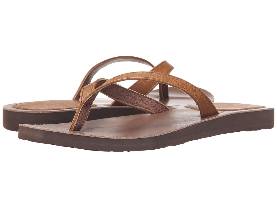 Scott Hawaii Mohala Tan Womens Sandals
