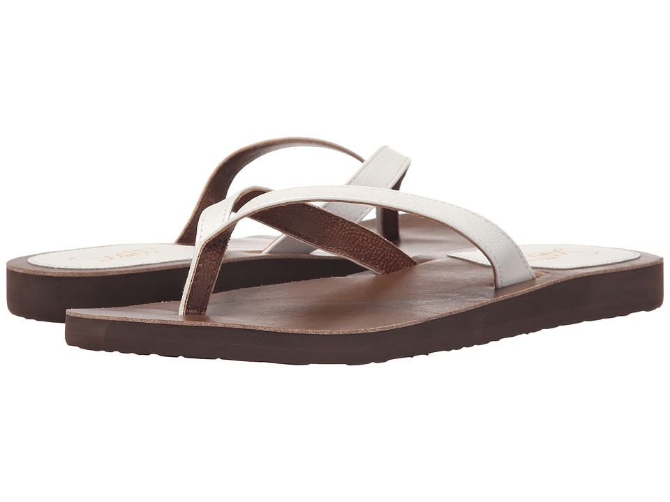 Scott Hawaii Mohala White Womens Sandals