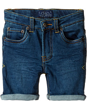 Lucky Brand Kids - Indigo Knit Shorts (Toddler)
