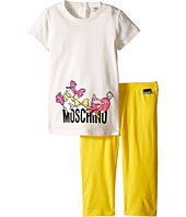 Moschino Kids - Graphic T-Shirt & Leggings Set (Infant/Toddler)