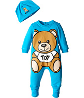 Moschino Kids - Teddy Bear Toy Footie w/ Cap Gift Set (Infant)