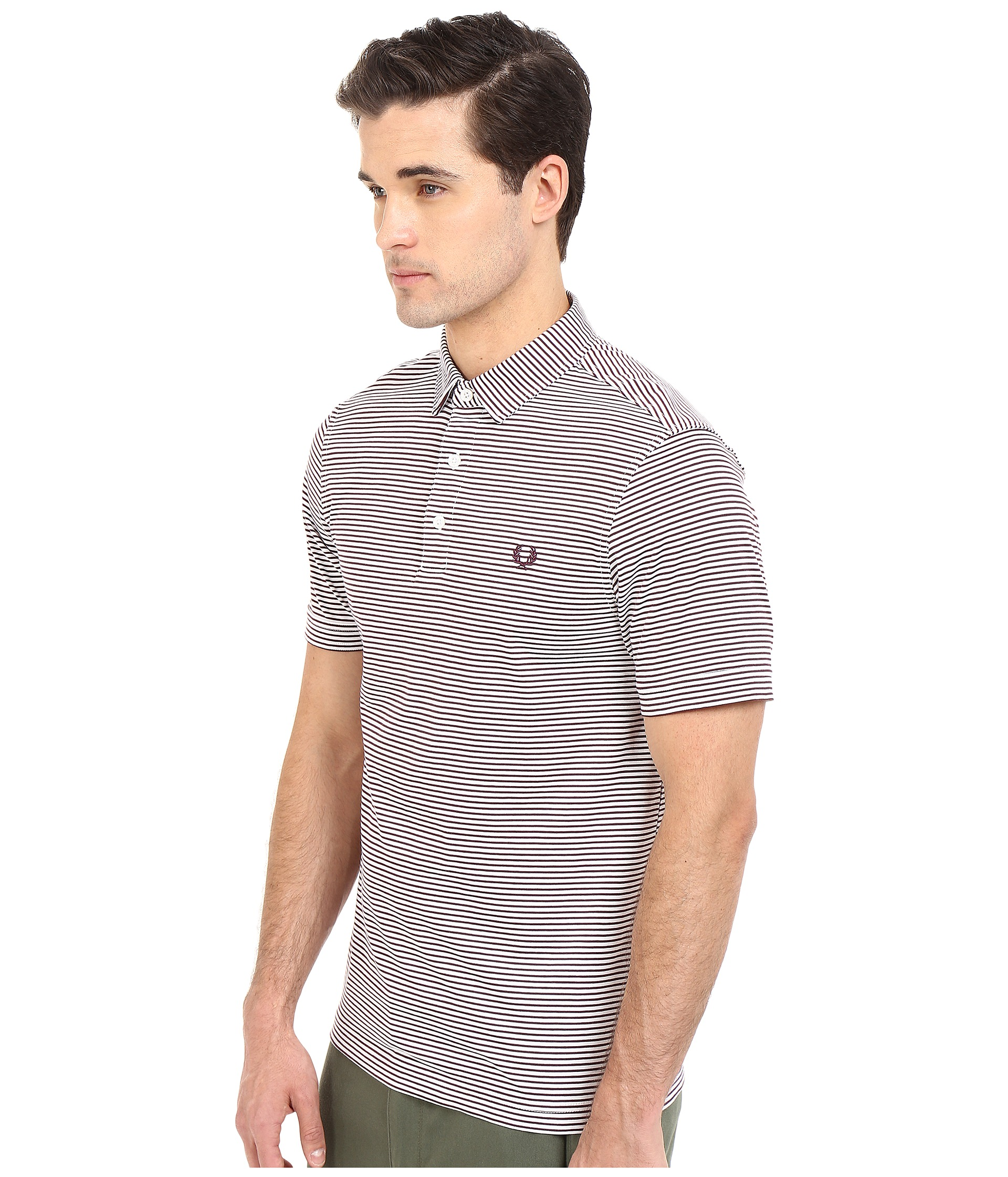Fred Perry Fine Stripe Shirt Free Shipping