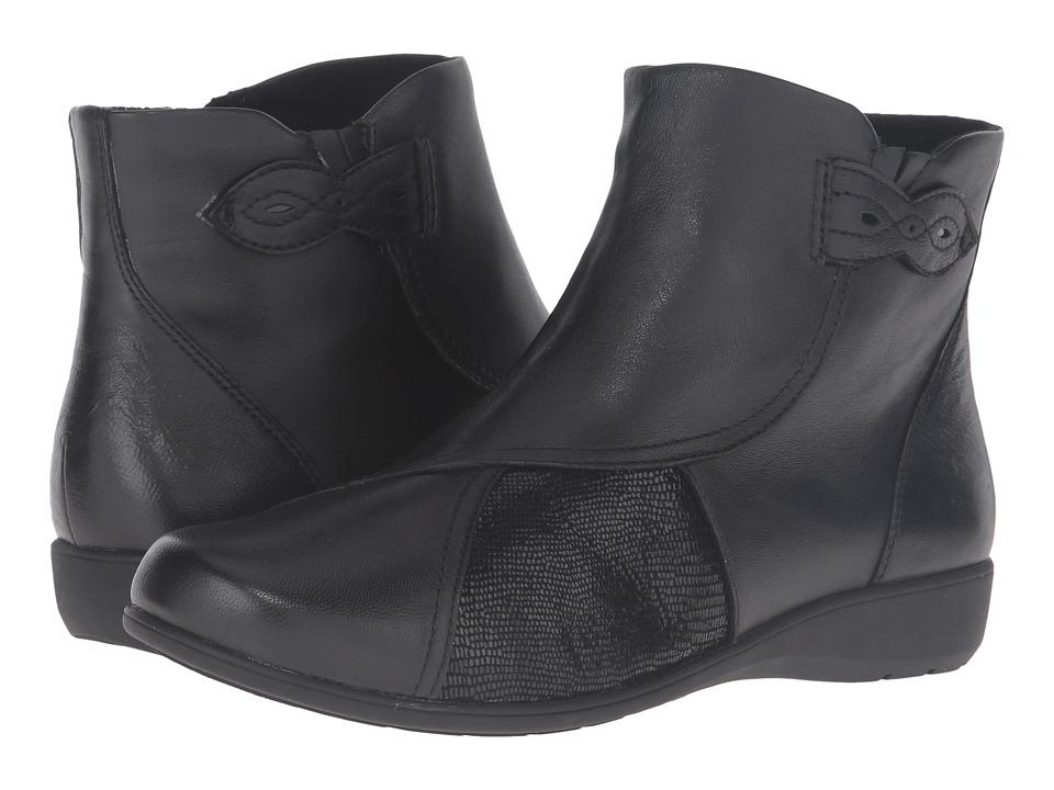 Aravon Anstice-AR (Black) Women's Zip Boots