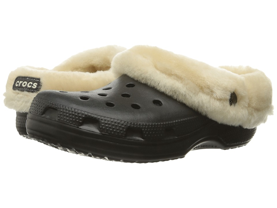 Crocs Classic Mammoth Luxe (Black) Clog Shoes