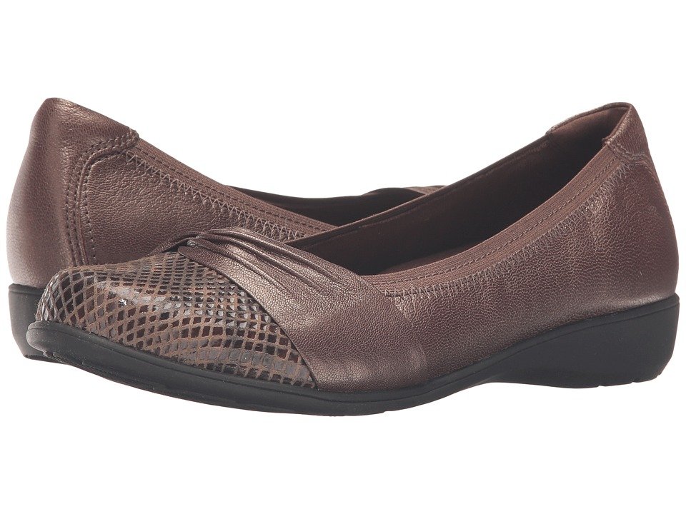Aravon Andrea-AR (Bronze) Slip-On Shoes