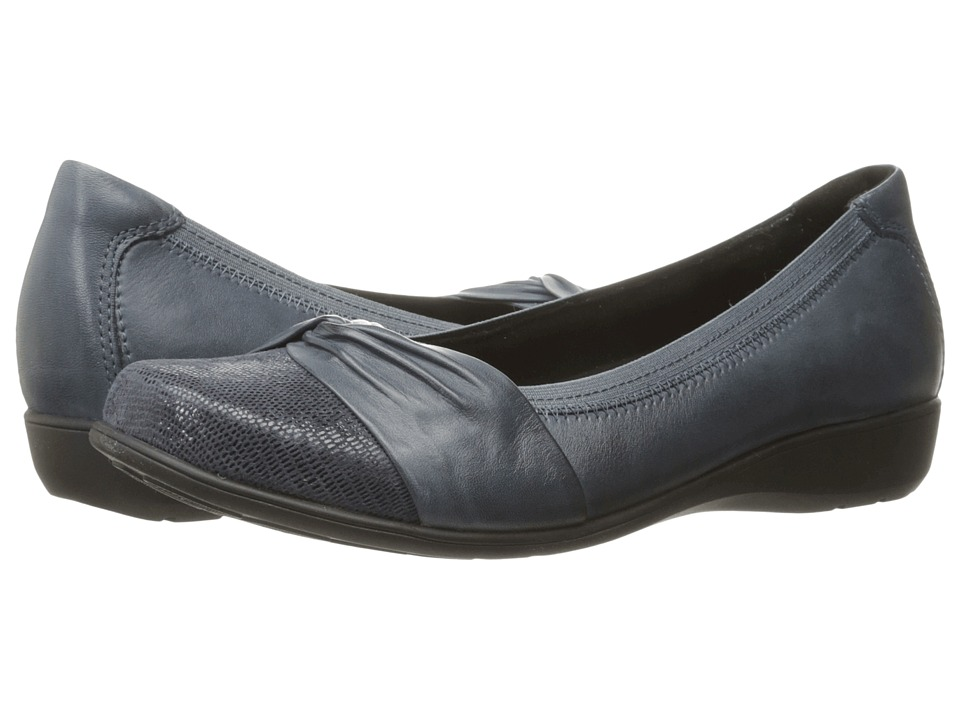 Aravon Andrea-AR (Navy) Slip-On Shoes