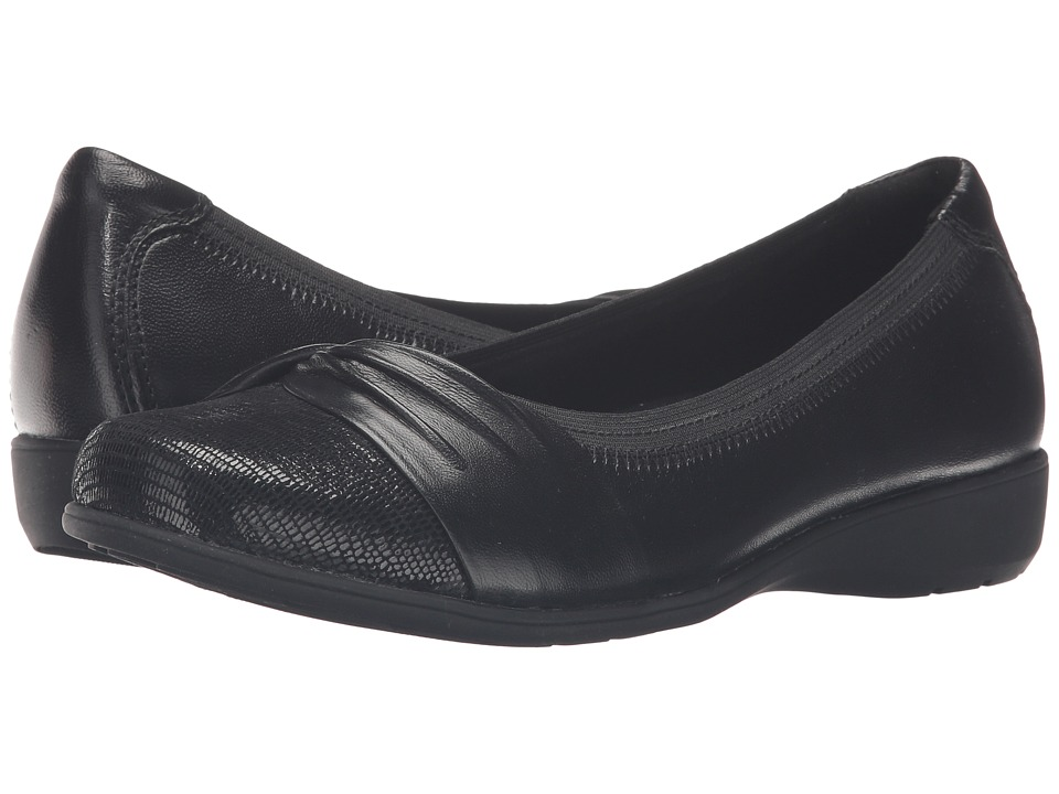 Aravon Andrea-AR (Black) Slip-On Shoes