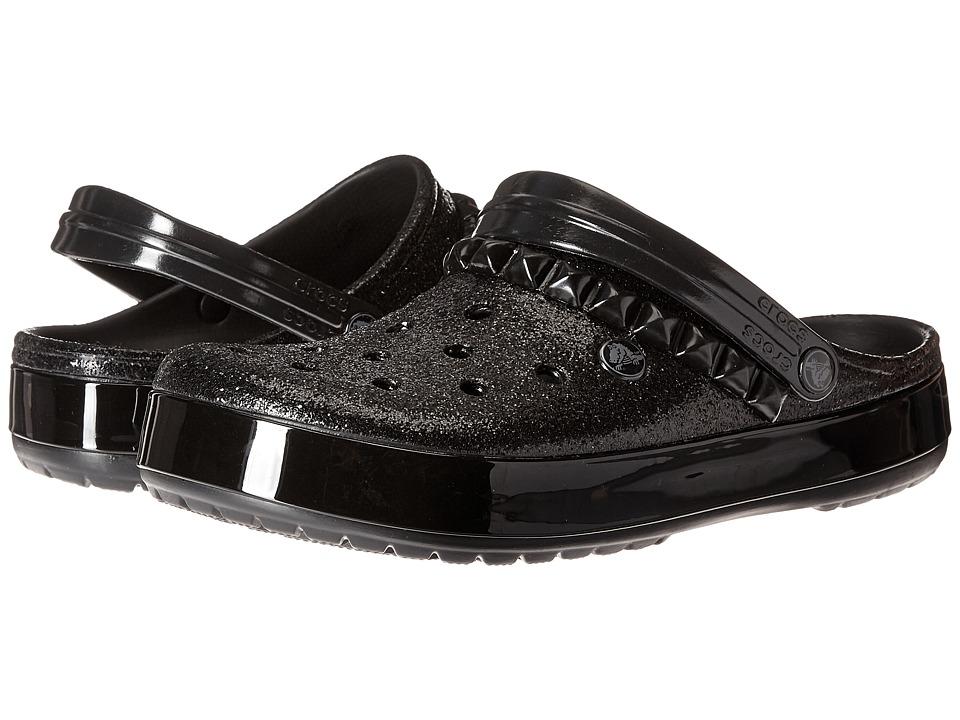 Crocs Crocband Studded Clog (Black) Clog Shoes