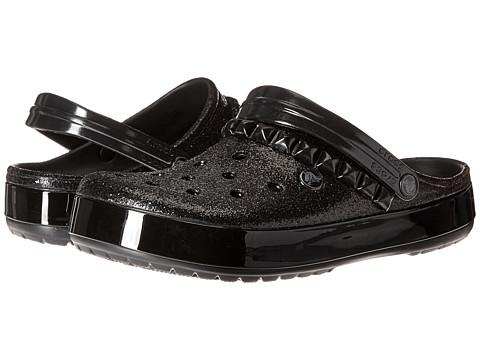 Crocs Crocband Studded Clog - Black