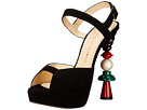 Charlotte Olympia - High Voltage (Black Suede)
