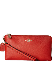 COACH - Double Zip Wallet