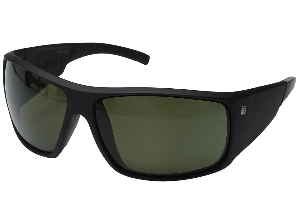 Electric Eyewear Backbone S Polarized (Matte Black/Melanin Level 1 Grey Polarized) Goggles