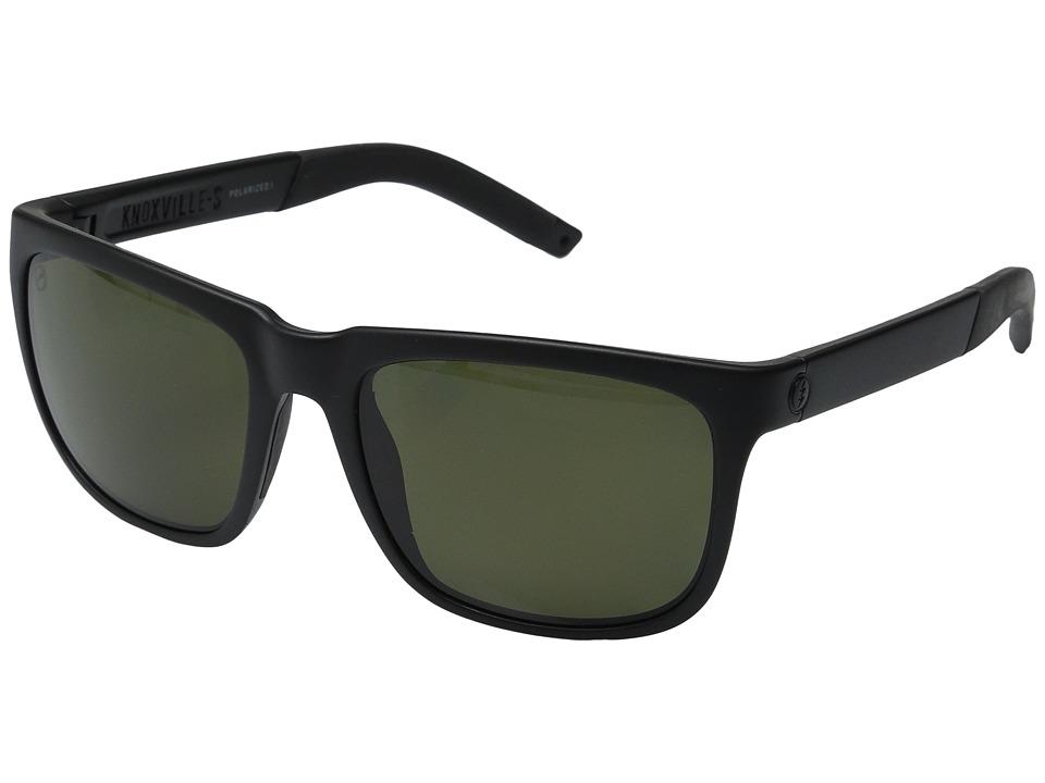 Electric Eyewear Knoxville S Polarized (Matte Black/Melanin Level 1 Grey Polarized) Goggles