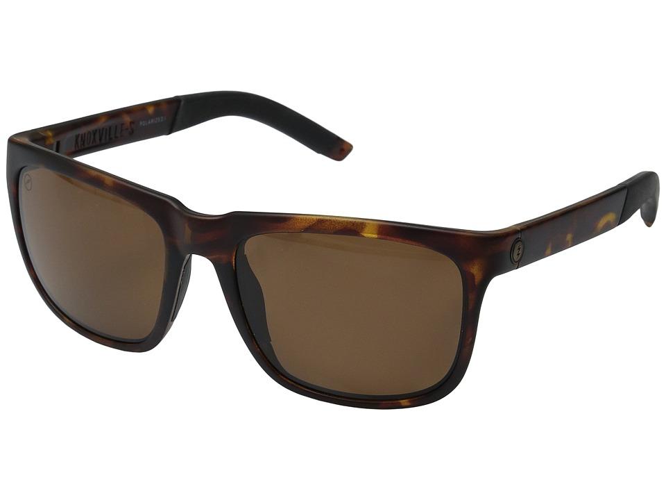 Electric Eyewear Knoxville S Polarized (Matte Tort/Melanin Level 1 Bronze Polarized) Goggles