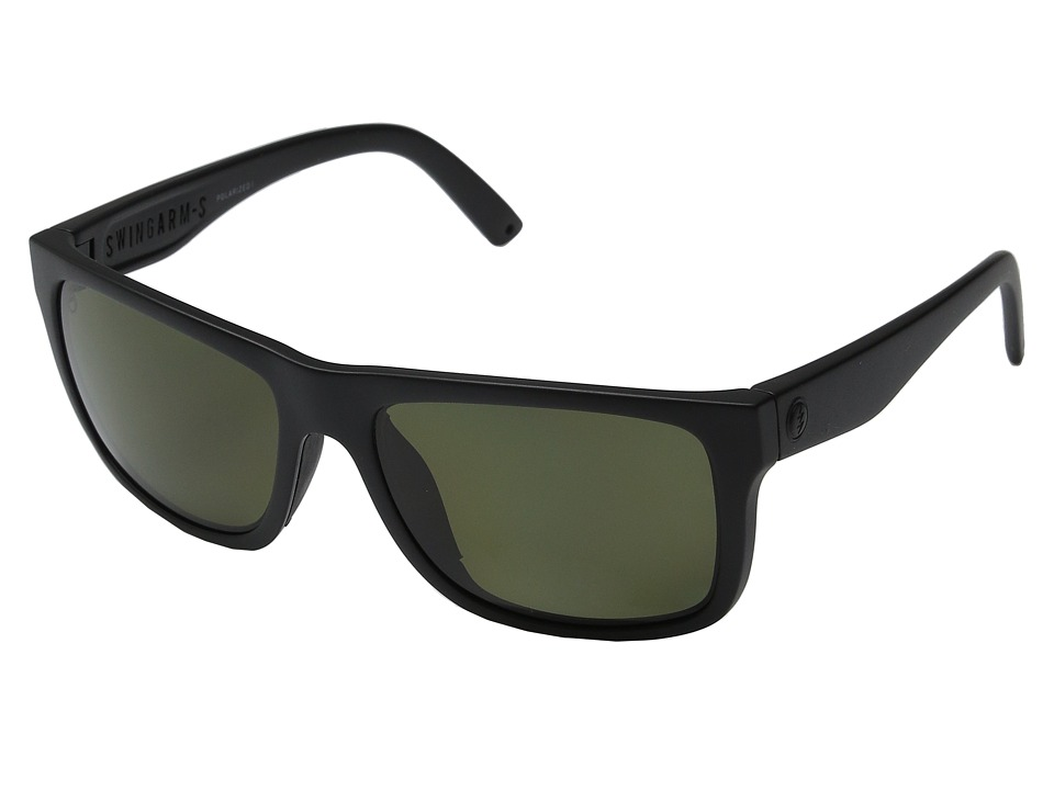 Electric Eyewear Swingarm S Polarized (Matte Black/Melanin Level 1 Grey Polarized) Goggles