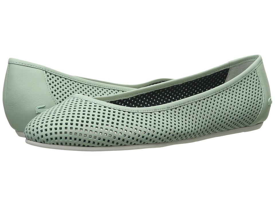 Lacoste Cessole 216 1 Light Green Womens Flat Shoes