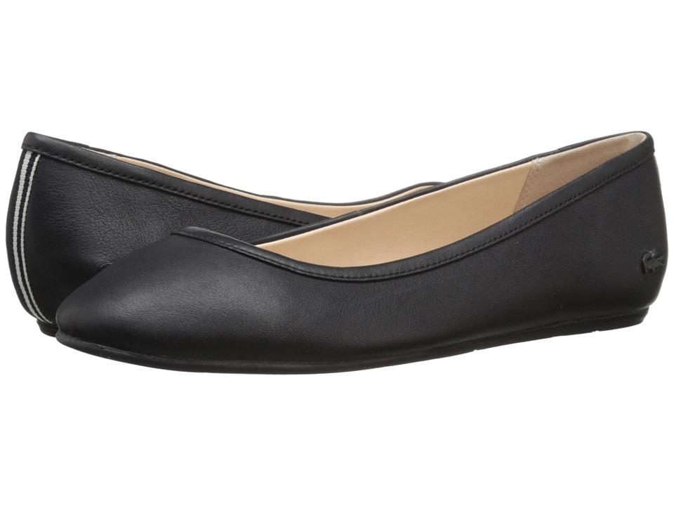Lacoste Cessole 4 Black Womens Flat Shoes