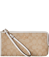 COACH - Signature Zip Wallet