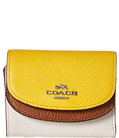 COACH - Color Block Double Flap Small Wallet