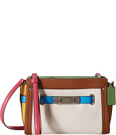 COACH - Rainbow Color Block Coach Swagger Wristlet