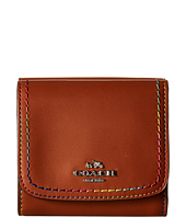 COACH - Rainbow Stitch Small Wallet