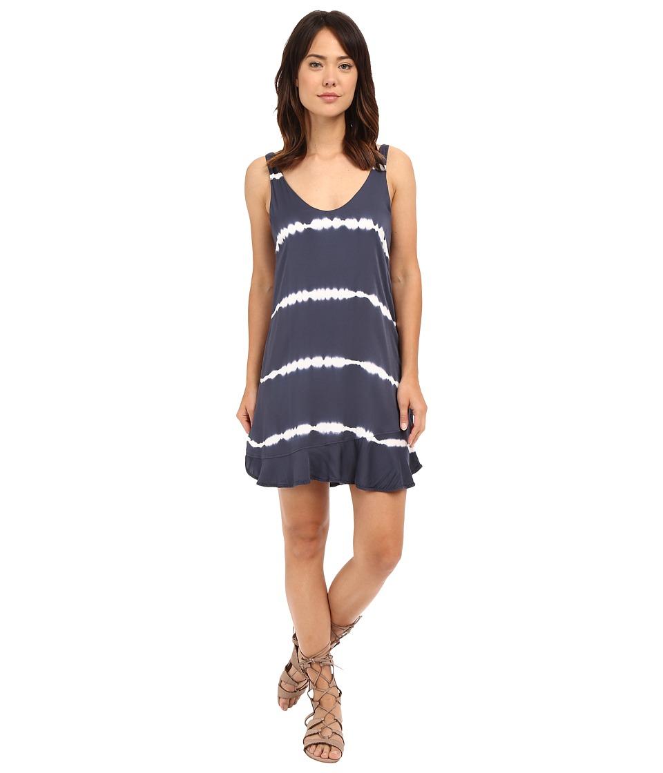 Gypsy05 Mini Dress with Ruffle Shadow Womens Dress