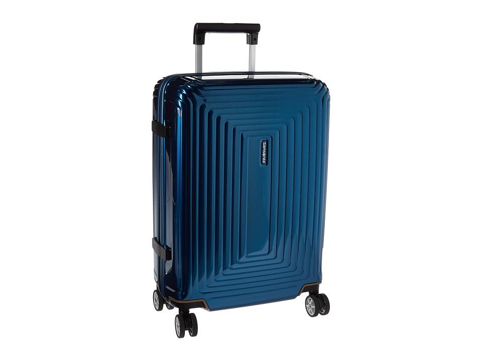 Samsonite Neopulse 20 Spinner Metallic Blue Luggage