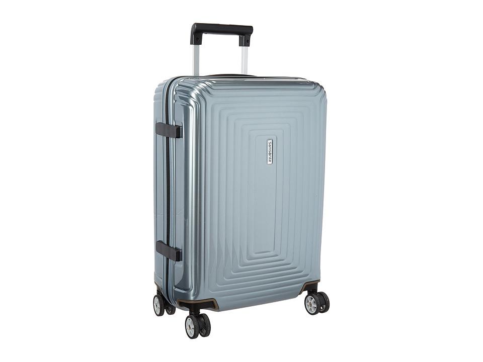 Samsonite Neopulse 20 Spinner Metallic Silver Luggage