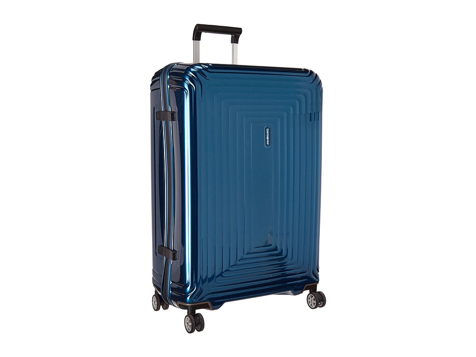 Samsonite Neopulse 28 Spinner Metallic Blue Luggage
