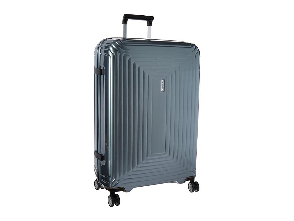 Samsonite Neopulse 28 Spinner Metallic Silver Luggage