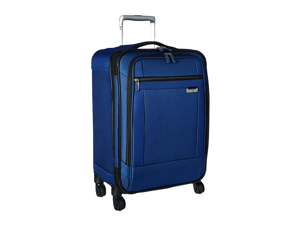Samsonite - Solyte 20 Spinner (True Blue) Carry on Luggage
