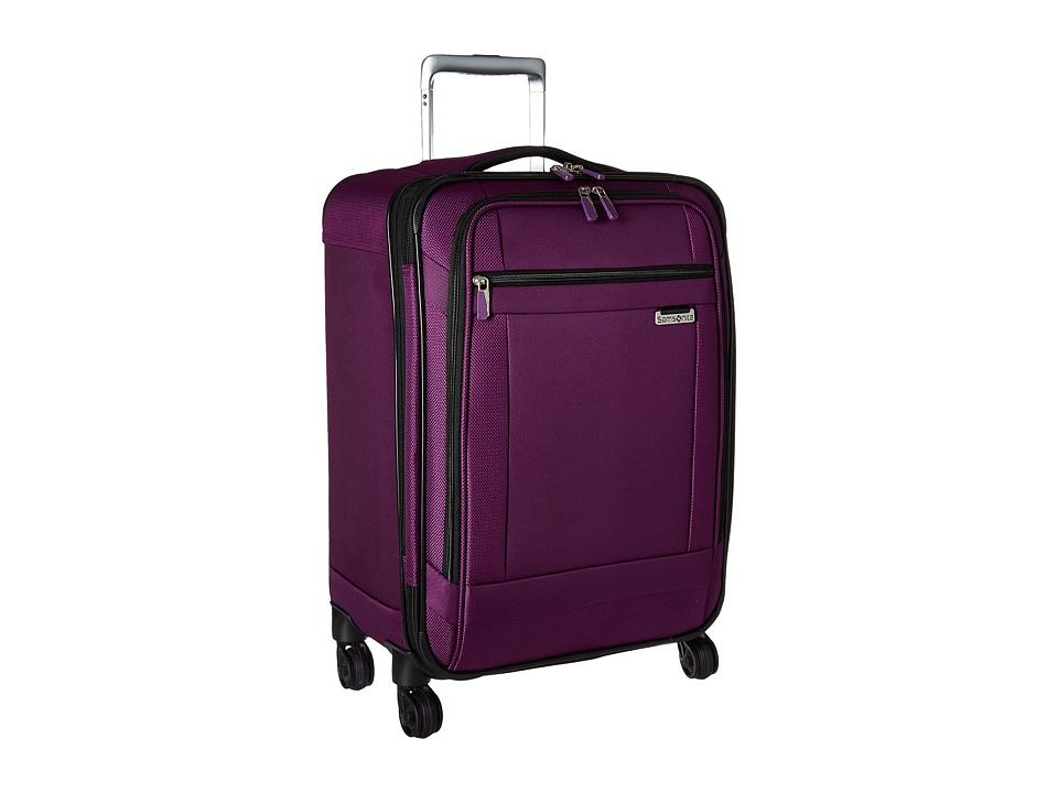 Samsonite Solyte 20 Spinner (Purple Magic) Carry on Luggage