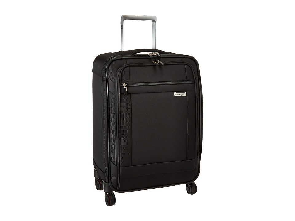 Samsonite - Solyte 20 Spinner (Black) Carry on Luggage