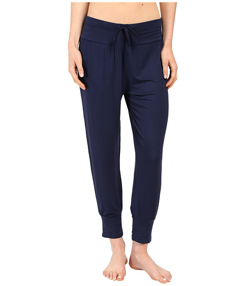 Splendid - Jogger Cropped Pants (Navy Iris) Women's Pajama