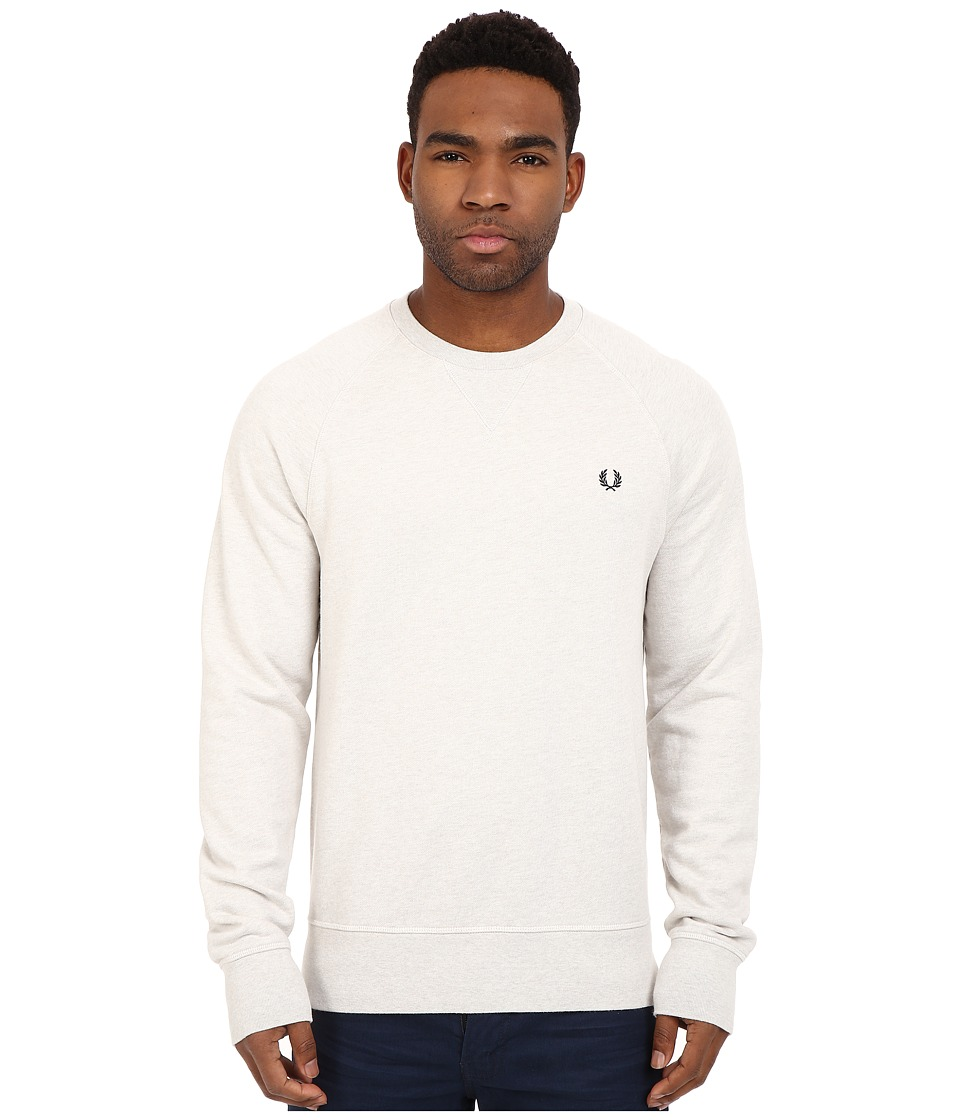 Fred Perry - Loopback Crew Sweater (Natural Marl) Men