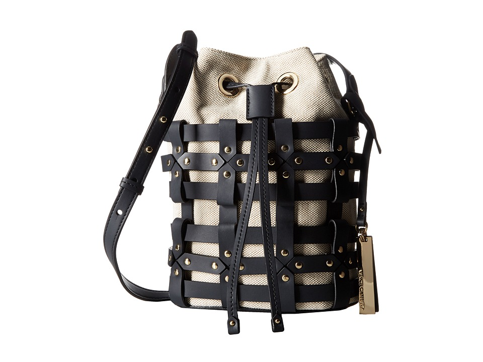Vince Camuto - Klay Crossbody (Natural/Graphite) Cross Body Handbags