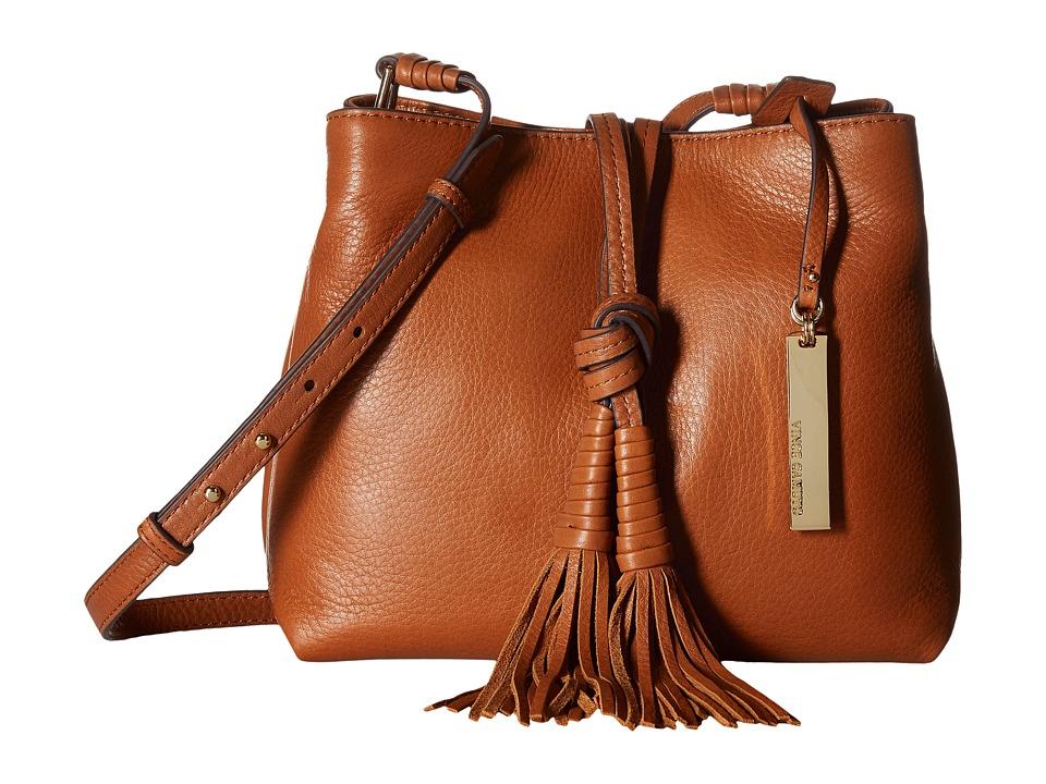 Vince Camuto - Taro Crossbody (Whiskey) Cross Body Handbags