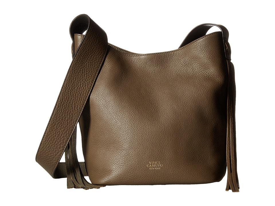 Vince Camuto - Valri Crossbody (Stone Gray) Cross Body Handbags