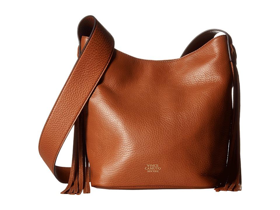 Vince Camuto - Valri Crossbody (Whiskey) Cross Body Handbags