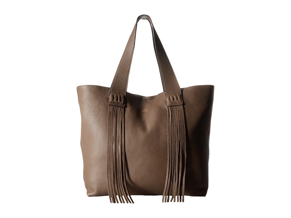 Vince Camuto - Valri Tote (Stone Gray) Tote Handbags