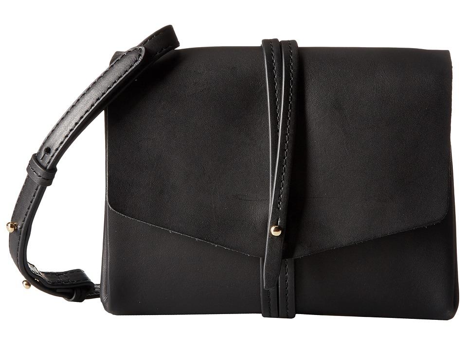 Vince Camuto - Tuck Crossbody (Black) Cross Body Handbags
