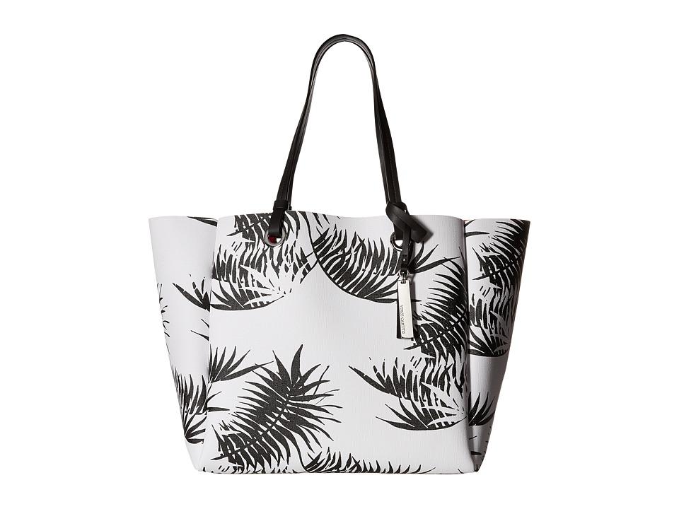 Vince Camuto - Nina Tote (White/Black) Tote Handbags