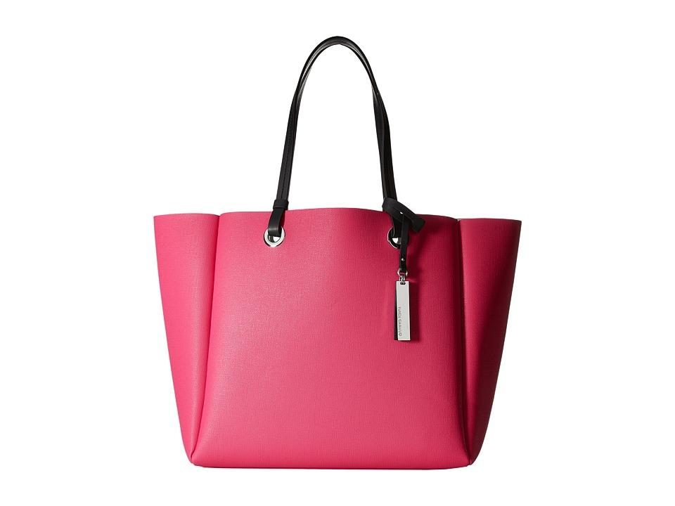 Vince Camuto - Nina Tote (Fuchsia/Graphite) Tote Handbags
