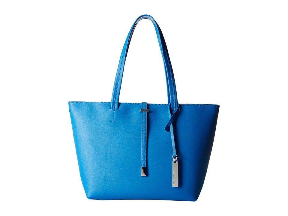 Vince Camuto - Leila Small Tote (Capri Blue) Tote Handbags