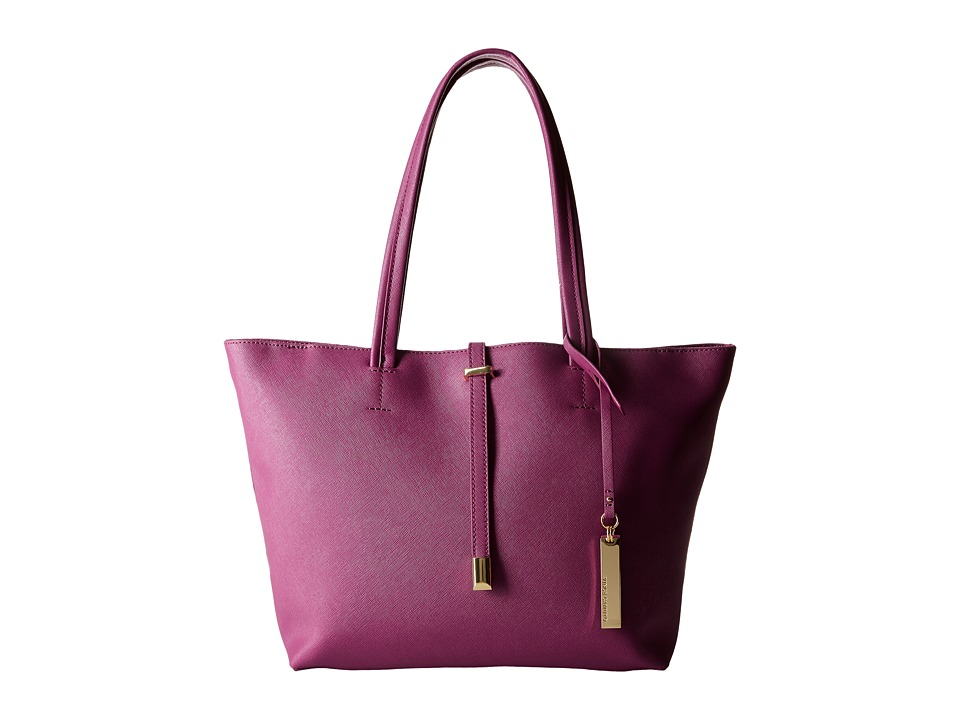 Vince Camuto - Leila Small Tote (Fig Jam) Tote Handbags