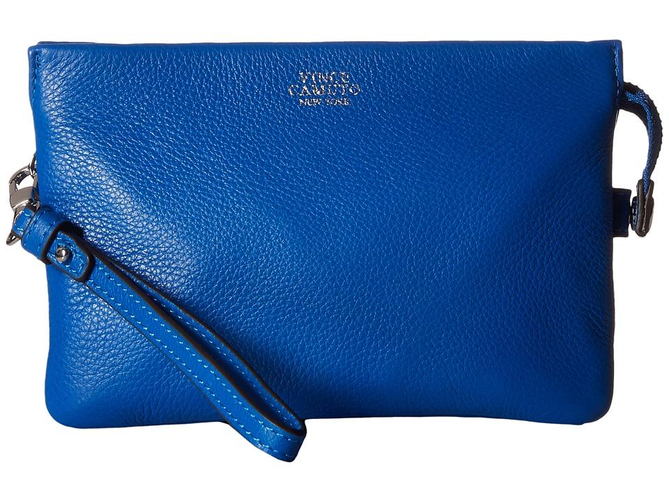 Vince Camuto - Cami Crossbody (Capri Blue) Cross Body Handbags