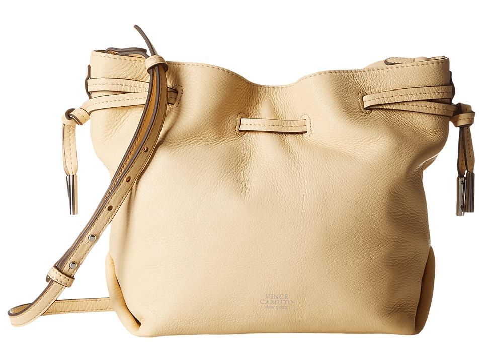 Vince Camuto - Nisha Crossbody (Custard) Cross Body Handbags